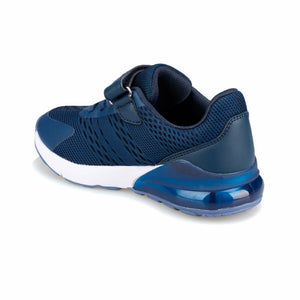 Boy's Navy Blue Running Shoes