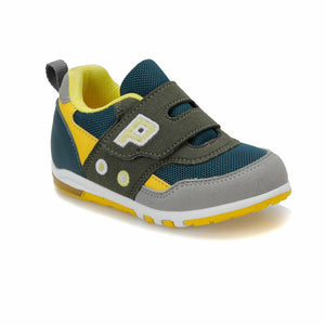 Boy's Petrol Yellow Sport Shoes