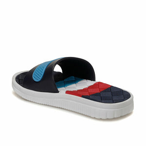 Boy's Navy Blue Slippers