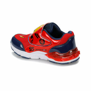 Boy's Navy Blue Red Sport Shoes