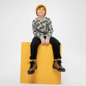 Boy's Lace-up Ginger Boots