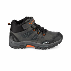 Boy's Grey Outdoor Boots