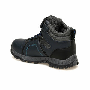 Boy's Navy Blue Outdoor Boots