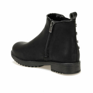 Girl's Classic Black Boot