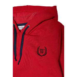 Boy's Hooded Red Sweatshirt