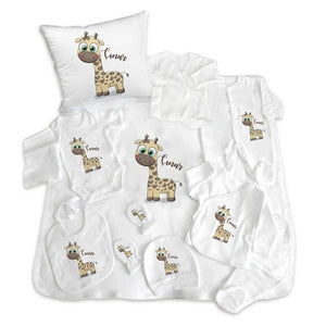 Baby Boy's Personalized Newborn Set- 11 Pieces