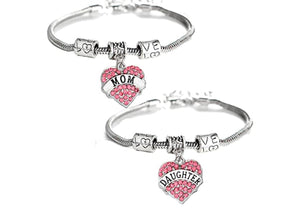Pandora mommy and daughter Bracelets