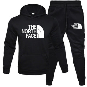 North face sweat suits