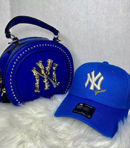 new york matching cap