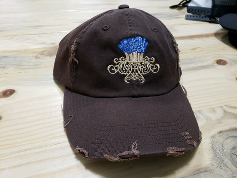 Center Front Custom Embroidered Hat DT600