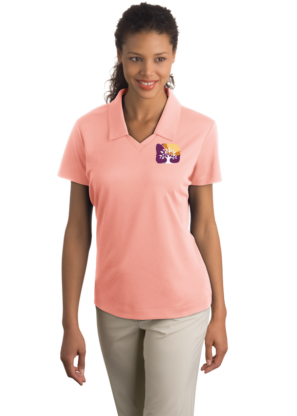 Nike DriFit Polo Pink Custom Embroidered 354067