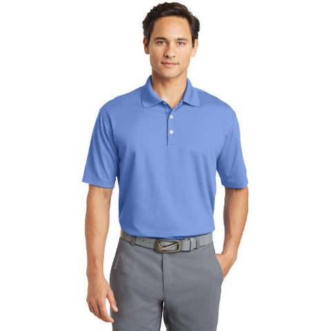 Valor Blue Nike Golf Polo logo
