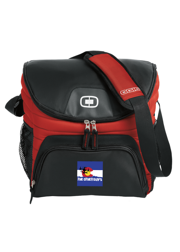 OGIO Chill Cooler 18 to 24 can cooler Red Custom Embroidered 408113