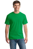 Gildan Cotton T Shirt Iris GreenCustom Embroidered 5000
