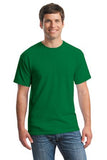 Gildan Cotton T Shirt Kelly Green  Custom Embroidered 5000
