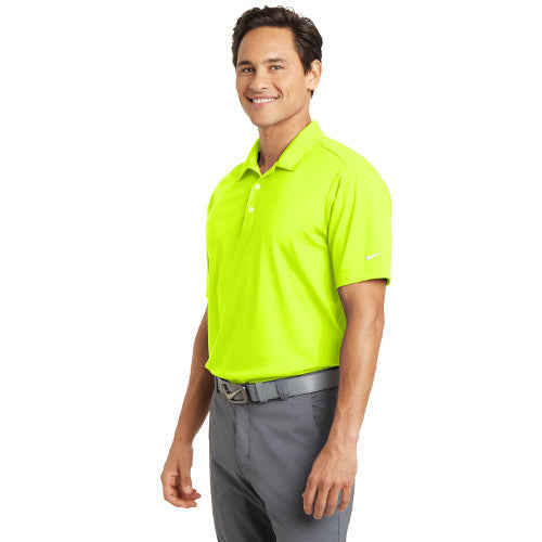 0eab3632 ... Bardsey Pl Nike Dri FIT Vertical Mesh Polo Custom Embroidered 637167  Volt ...