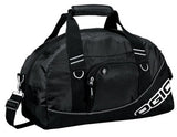 OGIO Half Dome Duffle Bag Black Custom Embroidered 711007