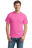 Gildan Dry Blend Shirt Pink Custom Embroidered 8000