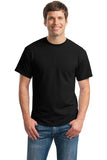 Gildan Dry Blend Shirt Black Custom Embroidered 8000