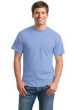 Gildan Dry Blend Shirt Light Blue Custom Embroidered 8000
