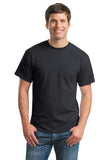 Gildan Dry Blend Shirt Charcoal Custom Embroidered 8000