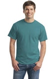 Gildan Dry Blend Shirt Jade Dome Custom Embroidered 8000