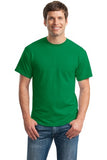 Gildan Dry Blend Shirt Kelly Green Custom Embroidered 8000