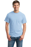 Gildan Dry Blend Shirt Carolina Blue Custom Embroidered 8000