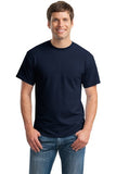 Gildan Dry Blend Shirt Navy Custom Embroidered 8000