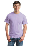 Gildan Dry Blend Shirt Light Purple Custom Embroidered 8000