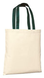 Port Company Budget Tote Natural Hunter Custom Embroidered B150