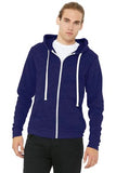 BC3909 Peetz Bella+Canvas ® Unisex Triblend Sponge Fleece Full-Zip Hoodie