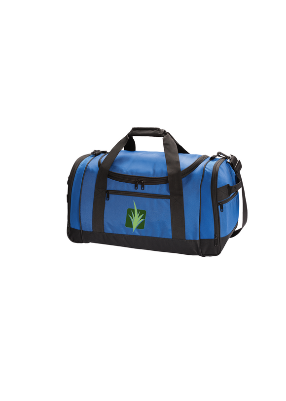 Port Authority Voyager Sport Duffle Twilight Blue Custom Embroidered BG800