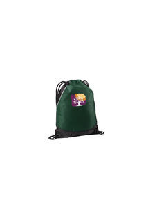 Sport Tek Rival Cinch Pack Forest Green Custom Embroidered BST600