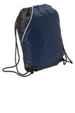 Sport Tek Rival Cinch Pack Navy Custom Embroidered BST600