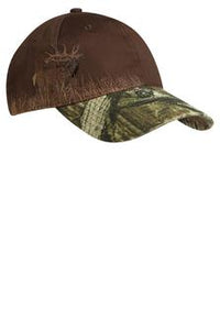 Apache Ct Port Authority Camouflage Hat Custom Embroidered C820 Mossy Oak Chocolate Elk