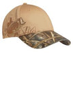 Apache Ct Port Authority Camouflage Hat Custom Embroidered C820 Mossy Oak Tan Bass