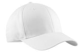 White Port Authority Flexfit Custom Hat