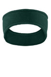 Port Authority Green Fleece Custom Logo Headband