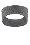Port Authority Heather grey Fleece Custom Logo Headband c910