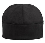 Black Port Authority Fleece Custom Embroidered Beanie C918