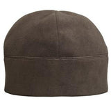 Port Authority Cafe Brown Fleece Embroidered Beaniec918