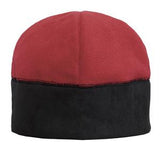 Red/Black Port Authority Custom Fleece Beanie C918