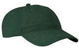 Port Company Twill Hat Green Custom Embroidered CP77