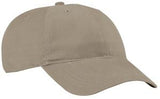 Port Company Twill Hat Khaki Custom Embroidered CP77