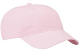 Port Company Twill Hat Light Pink Custom Embroidered CP77