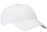 Port Company Twill Hat White Custom Embroidered CP77