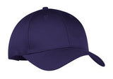 Port Company Twill Hat Purple  Custom Embroidered CP80
