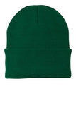 Port Company Beanie Custom Embroidered CP90 athletic green