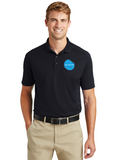 Corner Stone Snag Proof Polo Black Custom Embroidered CS448